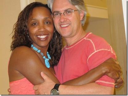Stephanie with husband (2)